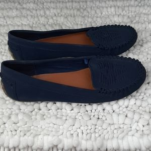 Lucky Brand Aninah Flats Moccasins Loafers Sz 10